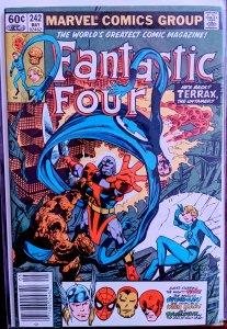 Fantastic Four #242 (1982) TERRAX!!!!!