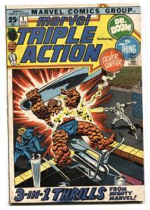 Marvel Triple Action #1 1971 comic book Silver Surfer first issue