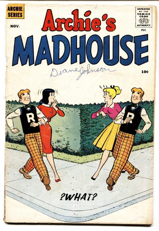 ARCHIE'S MADHOUSE #2 1959-PARODY ISSUE-RARE-PAPERDOLLS -fr