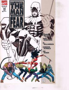 Lot Of 2 Marvel Comic Book Daredevil #3 and Darkhawk #9  AB7
