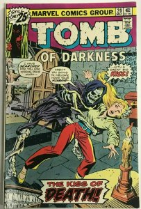 TOMB OF DARKNESS#20 FN/VF 1975 MARVEL BRONZE AGE COMICS