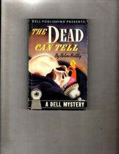 4 Pocket Books The Dead Can Tell, The Sheik, Death Knell Its A Free Country JL35
