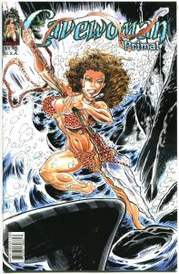 CAVEWOMAN PRIMAL #1, NM, Dinosaurs, Femme Fatale,Budd Root,2013,more CW in store