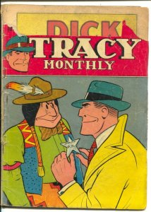 Dick Tracy #10 1948- Dell-Chester Gould art-text & comic stories--P