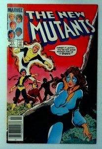 New Mutants #13 Marvel 1984 7.0 Key 1st Appearance Doug Ramsey Cypher Comic Book