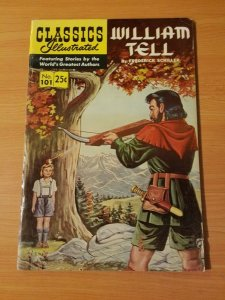 Classics Illustrated #101 - William Tell ~ VERY GOOD VG ~ (1969) HRN 169