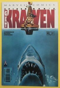 SPIDER-MAN GET KRAVEN 2 JAWS COVER MARVEL