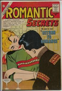 Romantic Secrets 30 1960-Charlton-high grade-spicy poses-headlights-VF-