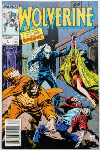 Wolverine #4NEWSSTAND (NM-)(1989)