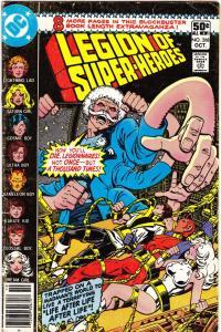 Legion of Super-Heroes #268