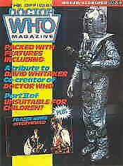 Doctor Who Magazine #98 FN; Marvel UK | save on shipping - details inside