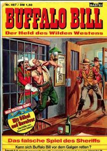 Buffalo Bill #467 1978-western action-Dutch language-VG