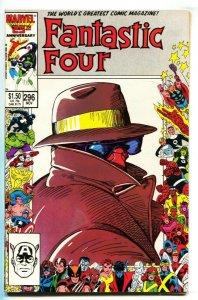 Fantastic Four #296 1986 Marvel anniversary border issue NM-