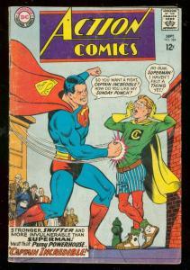 ACTION COMICS #354 1967-SUPERMAN-CAPTAIN INCREDIBLE-good G