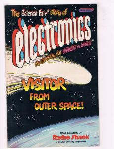 Story Of Electronics FN Radio Shack Visitor From Outer Space Comic Book DE34