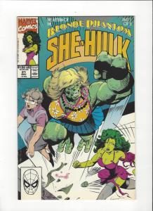 Sensational She-Hulk #21 (1989) Blonde Phantom NM