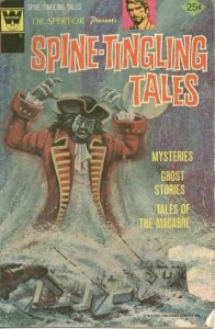 Spine-Tingling Tales #4, Fine- (Stock photo)