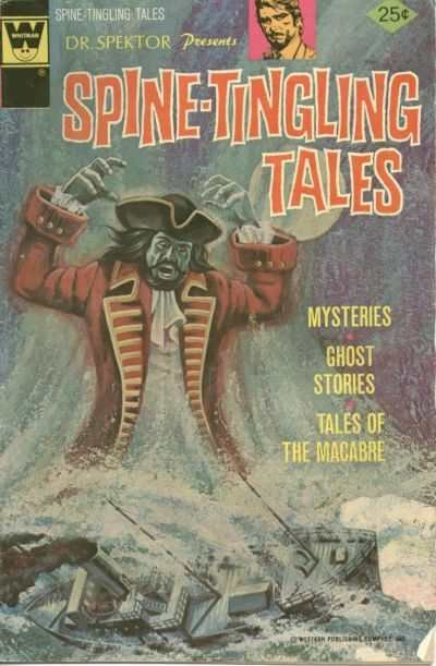 Spine-Tingling Tales #4, VF (Stock photo)