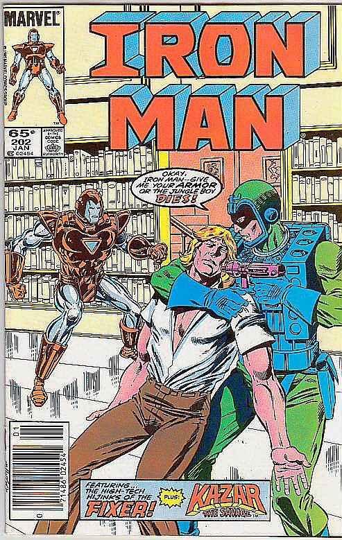 Iron Man #202 (Jan-87) NM Super-High-Grade Iron Man