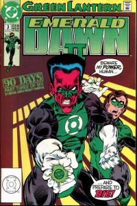 Green Lantern: Emerald Dawn II #3, NM (Stock photo)