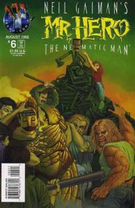 Mr. Hero-The Newmatic Man (Neil Gaiman's…, 1st Series) #6 VF/NM; Tekno | save on
