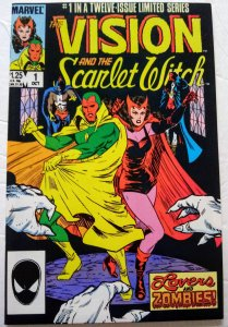 VISION AND THE SCARLET WITCH #1 (1985) Marvel Comics ID#MBX2