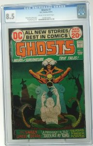 Ghosts #7 ~ 1972 DC ~  CGC 8.5 VF+
