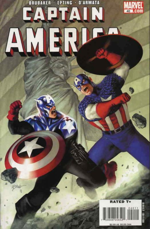 Captain America (5th Series) #40 VF/NM; Marvel | save on shipping - details insi