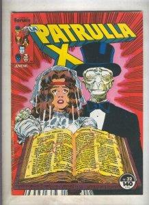 La Patrulla X volumen 1 numero 032: A la caza del tesoro (numerado 3 en trasera)