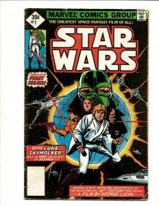 Star Wars # 1 VG Reprint Marvel Comic Book Luke Skywalker Han Solo Chewbacca BJ1