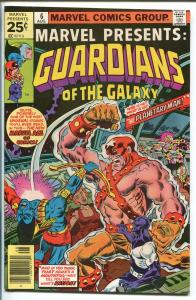 MARVEL PRESENTS  #6 1976-GUARDIANS OF THE GALAXY-vf+
