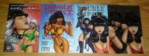 Double Impact vol. 2 #1-3 VF/NM complete series + vault of comics variant