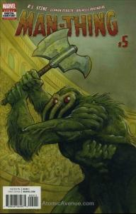 Man-Thing (5th Series) #5 FN; Marvel | save on shipping - details inside