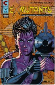 Ex-Mutants: The Shattered Earth Chronicles #4 VF/NM; Eternity | save on shipping