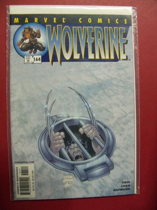 WOLVERINE #164 (9.0 to 9.4 or better) 1988 Series MARVEL COMICS