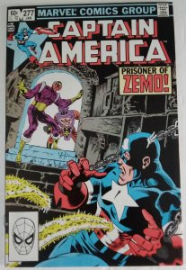 CAPTAIN AMERICA #277 Marvel Comics ID#MBX2