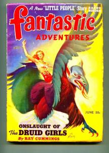 FANTASTIC ADVENTURES PULP JUNE 1941-H.W. MCCAULEY-EANDO BINDER-FN