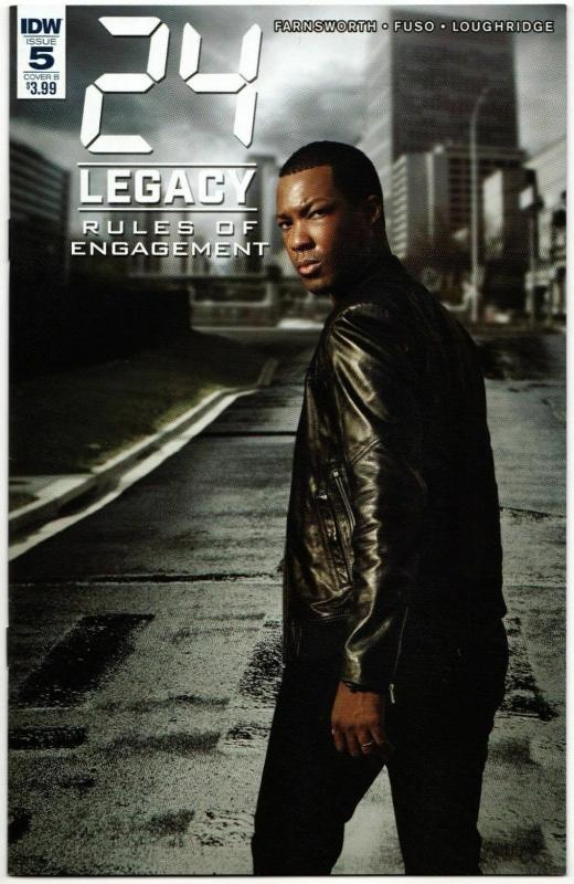 24 Legacy Rules of Engagement #5 Cvr B Photo Variant (IDW, 2017) VF/NM