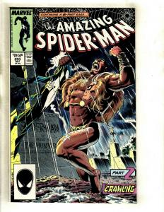 Lot Of 6 Amazing Spider-Man Marvel Comic Books #293 294 326 327 Annual 13 14 GK5