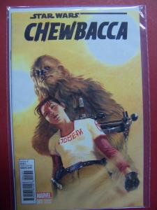 CHEWBACCA #001 GABRIELE DELL'OTTO 1:25 VARIANT COVER NM 9.4 MARVEL 2015 SERIES