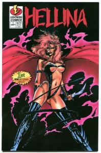 HELLINA #1, NM, Lightning, Femme Fatale, Good Girl, 1994, more indies in store