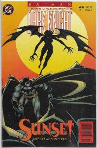 Batman  : Legends of the Dark Knight   # 41 VG (Sunset)