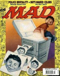 Mad (1952 series) #356, NM + (Stock photo)