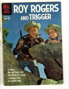 Roy Rogers # 136 VG/FN Dell Silver Age Comic Book Western Cowboy Trigger JL8