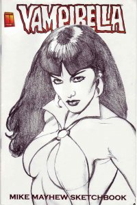 Vampirella: Mike Mayhew Sketchbook #1 VF/NM; Harris | save on shipping - details