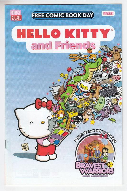 Hello Kitty and Friends Perfect Square Unstamped NM- FCBD 2014