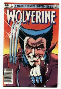 Wolverine Limited Series #1  Marvel-First Issue 1982 Frank Miller VF+