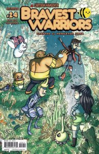 Bravest Warriors #24B VF/NM; Boom! | save on shipping - details inside
