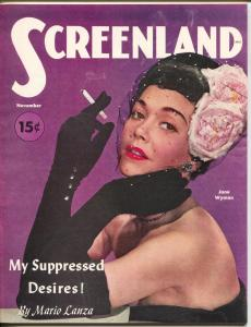 ScreenLand-Jane Wyman-Mario Lanza-Bob Preston-Pat O'Brien-Nov-1951