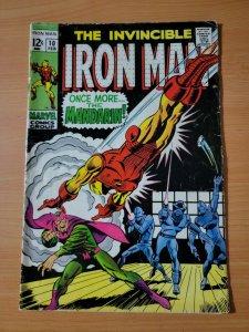 Invincible Iron Man #10 ~ VERY GOOD - FINE FN ~ 1969 Marvel Comics